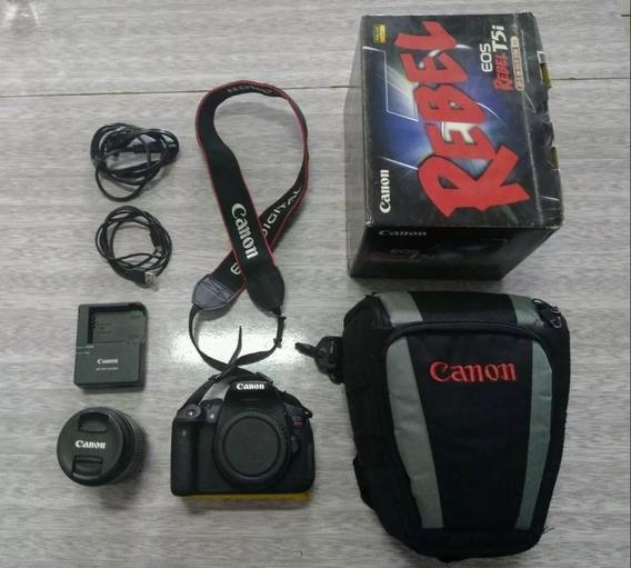 Câmera Canon T5i Leia O Anúncio