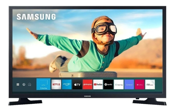 Smart Tv Led Hd 32 Samsung T4300 Preta Bivolt Pix90