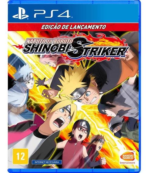 Jogo Naruto Boruto Shinobi Striker - Ps4 - Novo - Física