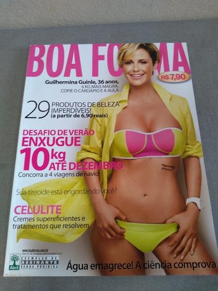 Revista Boa Forma Guilhermina Guinle Edição 284 Ano 2010
