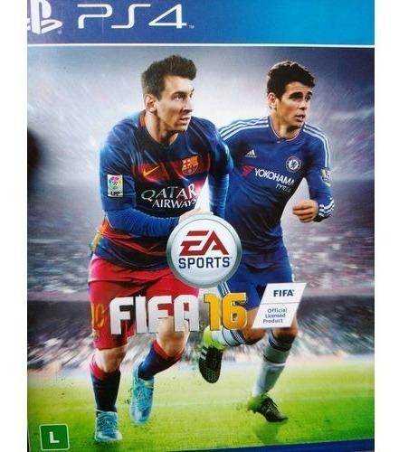 Fifa 16 Playstation 4 Original Novo