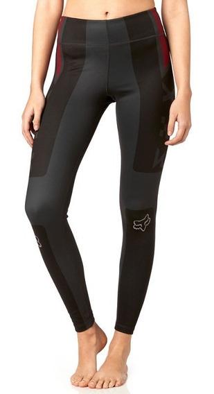 Legging Fox Negro-gris T- L