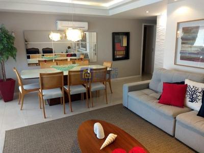 Apartamento Para Venda Em Cabo Frio, Algodoal, 3 Dormitórios, 1 Suíte, 2 Banheiros, 2 Vagas - Apart228
