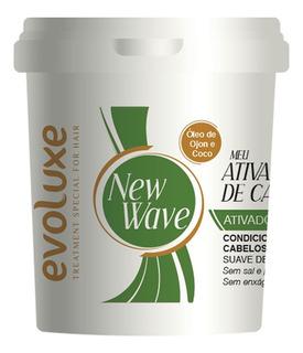 Creme Ativador De Cachos Suave New Wave Evoluxe 980g