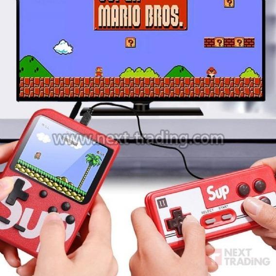 Mini Game Portátil 400 Jogos Nintendo Nes 8 Bits C/ Controle