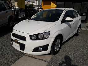 Chevrolet Sonic Lt Sedan Con Sunroof Mecanico
