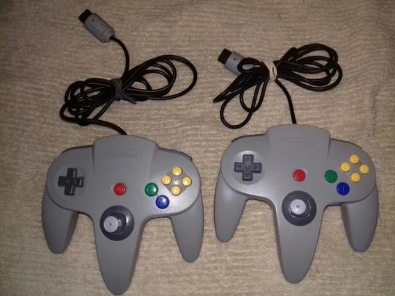 2 Controles De Nintendo 64