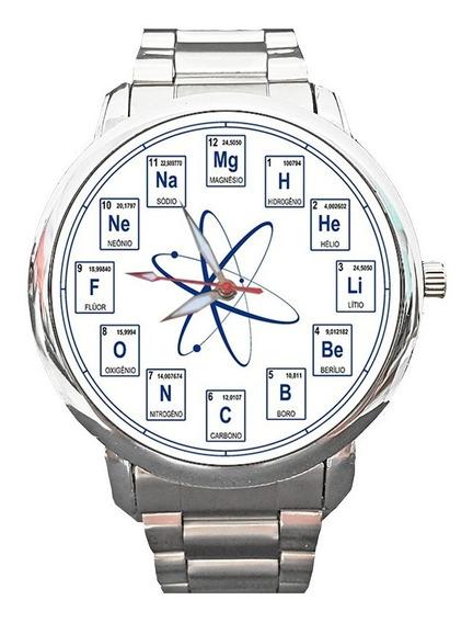 Relógio Química Quimicando Químico Facul Tabela Periódica