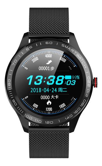 Microwear L9 Smart Watch Ip68 Waterproof 1.3-inch Ips