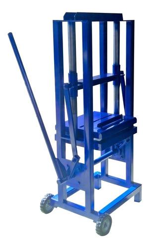 Imagen 1 de 12 de Equipo Para Fabricar Block Cara De Piedra