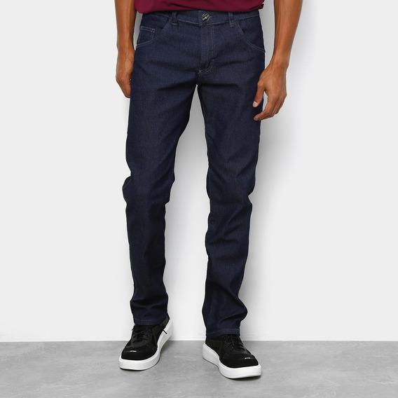 Calça Jeans Slim Preston Masculina - Azul Escuro