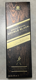 Garrafa Vazia Johnnie Walker Double Com Conta Gotas