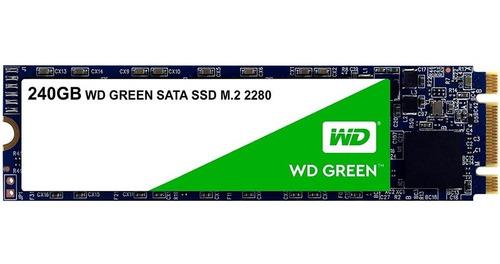 Ssd Interno Western Digital Green 240gb M.2 2280 Sata 6gb /v   Mercado Libre