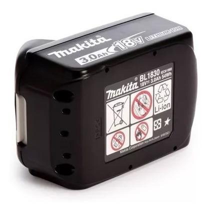 Bateria Bl1830 18v 3ah Li-ion Original Makita