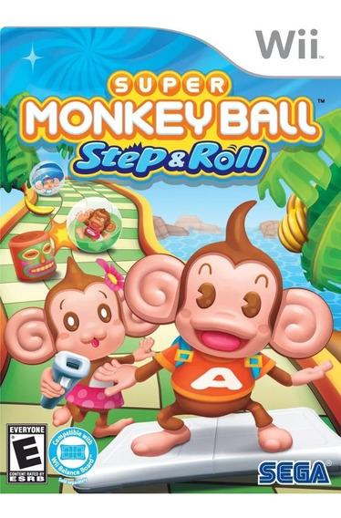 Jogo Lacrado Nintendo Wii Super Monkey Ball Banana Blitz