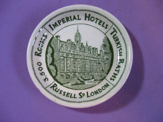 Antiguo Cenicero Imperial Hotel, London. Londres, Inglaterra