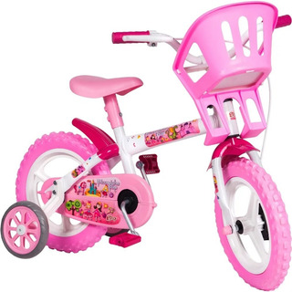 Bicicleta Infantil Aro 12 Princesinha - Styll Baby