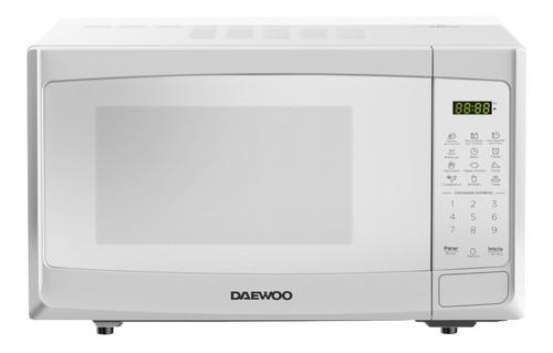 Imagen 1 de 1 de Daewoo Horno Microondas 1.1 Pies Blanco Dmdp11s2bw