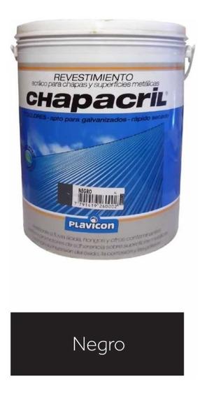 Revistimiento Acrilico Chapacril Plavicon 4 Lt Pintecord