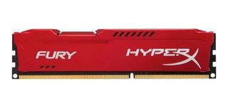 Memoria Ram Ddr3 Kingston Hyperx Fury 1600 Mhz 4 Gb Pc3-1280
