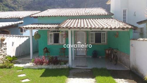 Excelente Casa No Recanto De Itaipuaçu - Ca3559