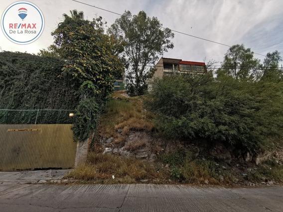Terreno En Venta Fraccionamiento Cerro De Los Remedios