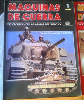 Fasciculos Coleccionables Maquinas De Guerra,etc.