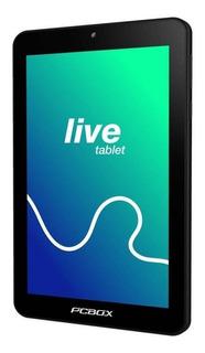 Tablet Pcbox Live Pcb-t732b 1gb Ram 16gb Almac. Center Hogar