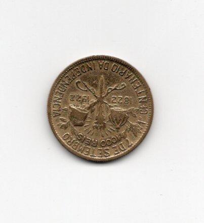 M89 1000 Réis 1822-1922 Centenário Independencia