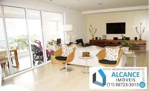 Supremo Campo Belo - Apartamento À Venda 201 M² Com 3 Suítes E 4 Vagas - Campo Belo - São Paulo/sp   Alcance Imóveis - Ap00164 - 34234990