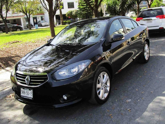Renault Fluence Privilege 2014 Color Negro
