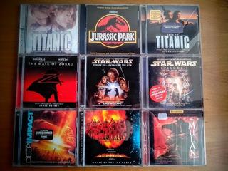 Música Películas Soundtrack Ost Cd Star Wars Disney Titanic