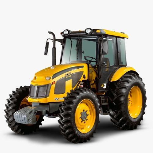 Tractor Pauny 210 A 4x4 0 Km Con Cabina