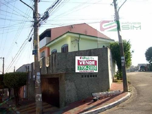 Imagem 1 de 3 de Casa Sobrado Em Jardim Santa Adelia - São Paulo - 4428