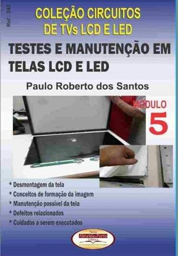 Livro Testes E Manutenção Em Telas Lcd E Led -  Ref. 242