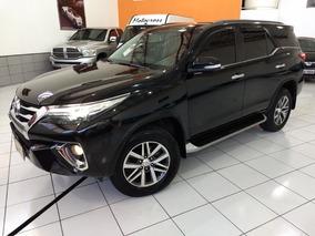 Toyota Hilux Sw4 Srx 2017 Preta 2.8 Die 4x4 5 Lug Top 22km