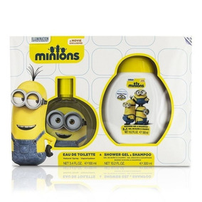 Kit Perfume Disney Minions Edt Ml+shower 300ml Infantil