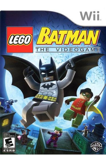 Lego Batman - Wii - Midia Fisica - Lacrado - Pronta Entrega