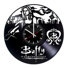 Buffy The Vampire Hunter Relógio Disco Vinil Presente