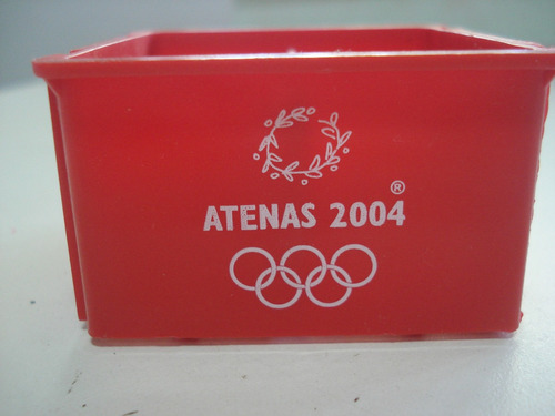 Engradados Coca -cola Olimpíadas Atenas 2004