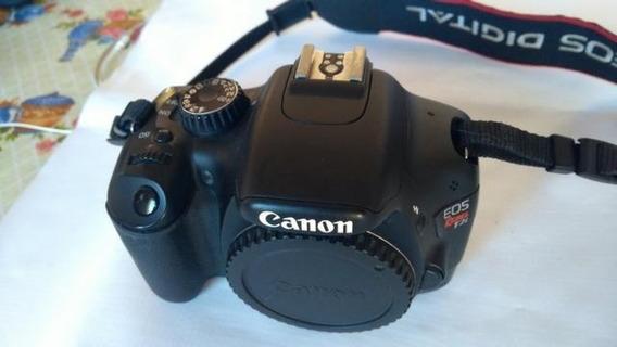 Câmera Profissional Canon Eos Rebel T2i - Somente O Corpo