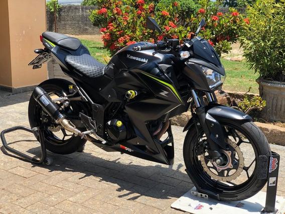 Kawasaki Z300 Abs 2019 Vários Acessórios Novos