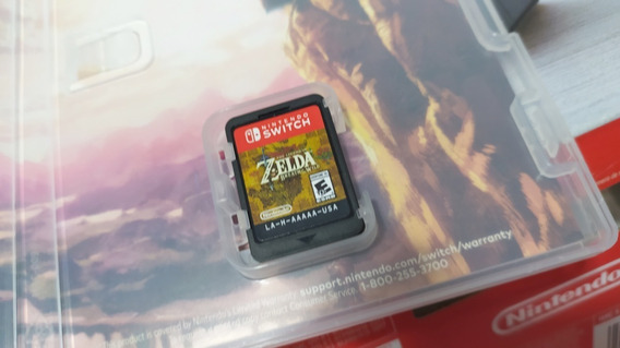 Zelda Breath Of The Wild - Nintendo Switch