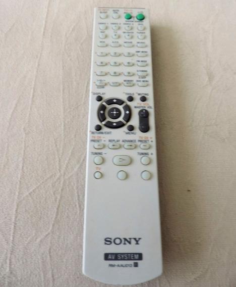 Controle Remoto Receiver Sony Rmaau013 - Ddw685 Dg510 K1600