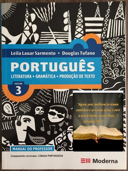 Livro Português 3 - Literatura-gramática-produção De Texto.