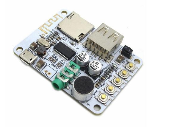 Modulo Receptor Blueetoth, Fm, Sd E Usb Flash