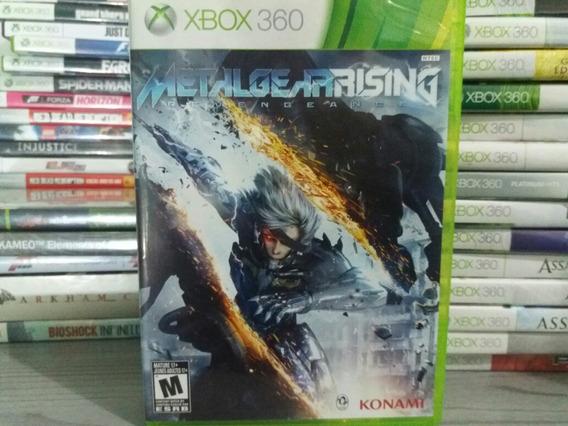 Jogo Metalgear Rising Xbox 360 Original Mídia Física