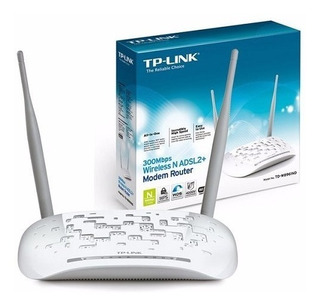 Tp Link Router Módem Inalámbrico N Adsl2+ 300mbps Td-w8961nd