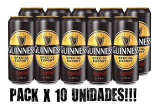 Guinness Special Export Lata 500ml - Packx10 - Ideal Evento