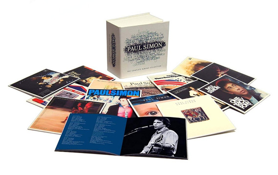 Paul Simon The Complete Albums Collection - Box C/ 15 Cds